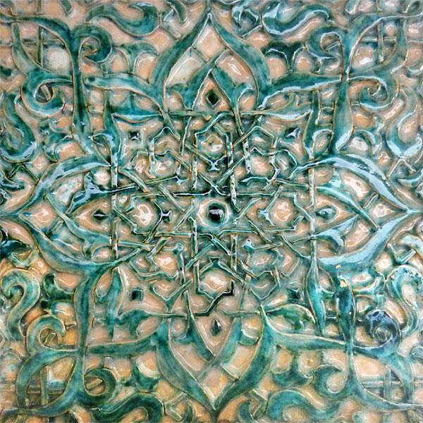 Cer mica taller de cer mica azulejos retablos murales - Como pintar azulejos a mano ...